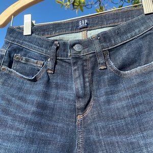 GAP Jeans - GAP True Skinny Dark Blue Denim Jeans